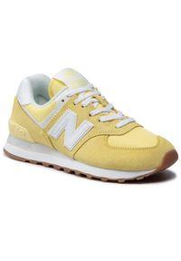 Żółte sneakersy New Balance 574