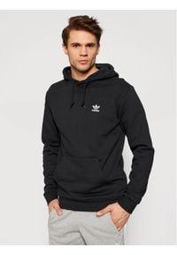 Adidas - adidas Bluza Essential Hoody FM9956 Czarny Standard Fit. Kolor: czarny