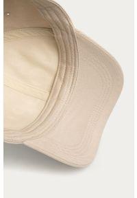 Beżowa czapka z daszkiem JOOP! gładkie