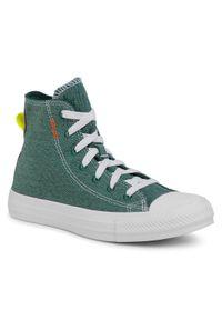 Zielone buty sportowe Converse