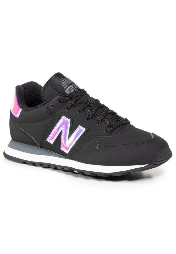 Czarne buty sportowe New Balance z cholewką, na co dzień