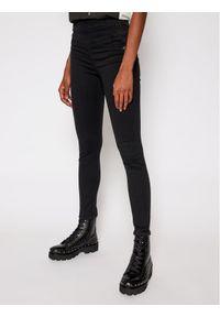 Czarne jeansy slim Patrizia Pepe