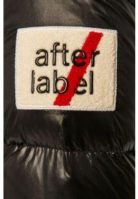 Czarna kurtka After Label z kapturem, casualowa, na co dzień