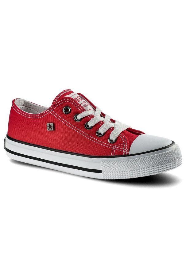 Big-Star - Trampki BIG STAR FF374201 603 Czerwony. Kolor: czerwony