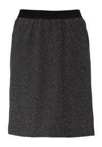 Cellbes Spódnica Czarny błyszczący female czarny 34/36. Kolor: czarny. Materiał: jersey, guma. Styl: elegancki