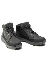 Czarne buty trekkingowe Helly Hansen trekkingowe