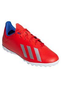Adidas - Buty adidas X Tango 18.4 TF Jr BB9417. Materiał: materiał. Szerokość cholewki: normalna. Sport: piłka nożna