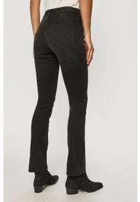 Czarne jeansy bootcut Diesel