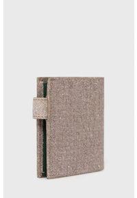 Pepe Jeans - Portfel skórzany. Kolor: beżowy. Materiał: skóra