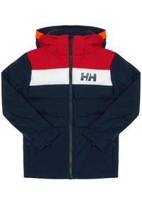 Niebieska kurtka sportowa Helly Hansen narciarska