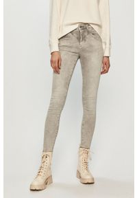 Pepe Jeans - Jeansy Regent Retro. Kolor: szary. Styl: retro