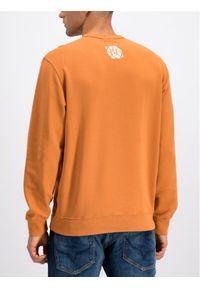 Pepe Jeans Bluza Simon PM581637 Pomarańczowy Regular Fit. Kolor: pomarańczowy