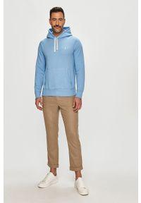 Niebieska bluza nierozpinana Polo Ralph Lauren casualowa, polo, na co dzień