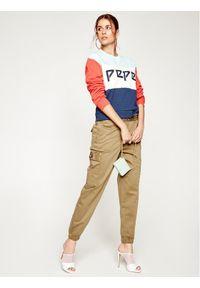 Pepe Jeans Bluza Primrose PL580963 Kolorowy Regular Fit. Wzór: kolorowy
