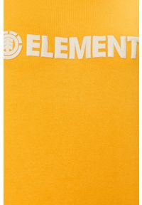Element - Bluza. Kolor: żółty. Długość rękawa: raglanowy rękaw. Wzór: aplikacja