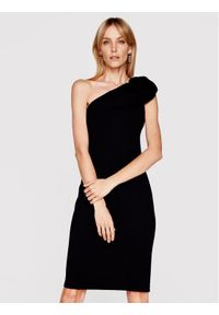 Czarna sukienka koktajlowa Babylon