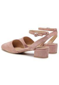 Różowe sandały Betsy casualowe, na co dzień