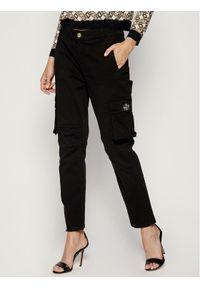 Czarne spodnie materiałowe My Twin