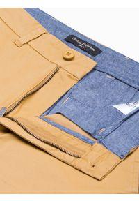Beżowe szorty Ombre Clothing na lato, krótkie #4