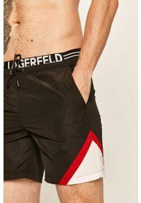 Czarne kąpielówki Karl Lagerfeld