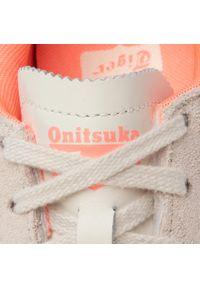 Beżowe półbuty Onitsuka Tiger casualowe, na co dzień, z cholewką