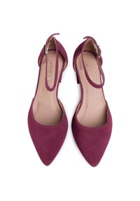 Fioletowe sandały Wojas