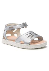Srebrne sandały Camper