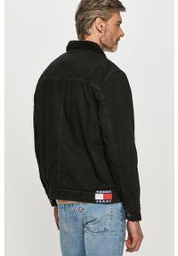 Czarna kurtka Tommy Jeans bez kaptura, casualowa