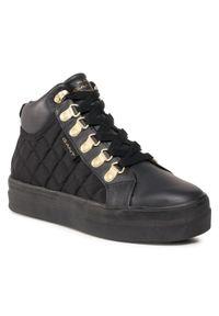 Czarne buty sportowe GANT