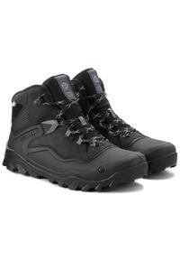 Czarne buty trekkingowe Merrell trekkingowe