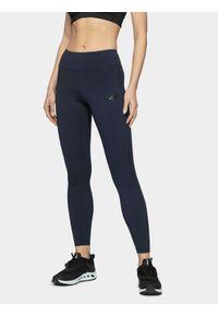 Niebieskie spodnie sportowe 4f do kostek