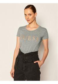Guess T-Shirt Angelika W0YI0L J1300 Szary Slim Fit. Kolor: szary