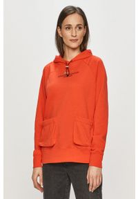 Nike Sportswear - Bluza. Okazja: na co dzień. Typ kołnierza: kaptur. Kolor: czerwony. Długość rękawa: długi rękaw. Długość: długie. Styl: casual