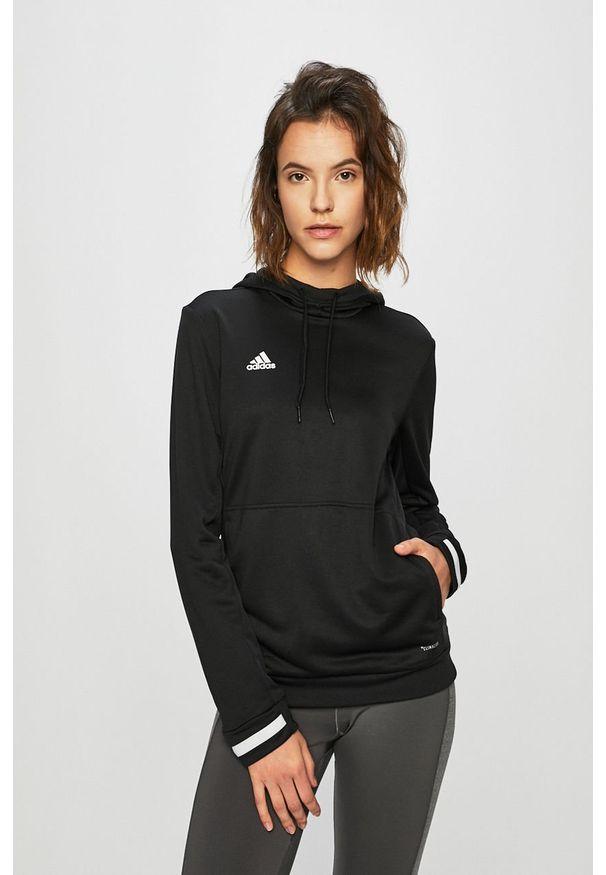 Czarna bluza adidas Performance na co dzień, casualowa