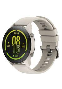 Beżowy zegarek Xiaomi smartwatch, casualowy