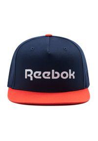 Czapka z daszkiem Reebok - Act Core Ll Cap GM5888 Vecnav/Dynred. Kolor: niebieski. Materiał: materiał, bawełna