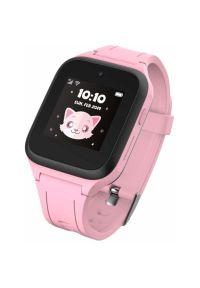 Różowy zegarek TCL smartwatch
