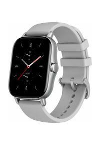 Szary zegarek AMAZFIT smartwatch, elegancki