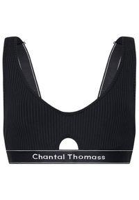 Czarny biustonosz z fiszbinami Chantal Thomass
