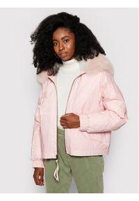 Różowa kurtka zimowa Mr & Mrs Italy