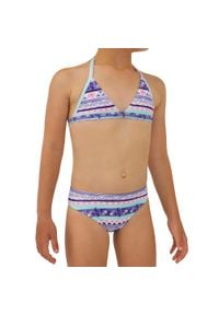 OLAIAN - Kostium Dwuczęściowy Tina 100 Koia Dla Dzieci. Kolor: fioletowy. Materiał: elastan, poliester, materiał