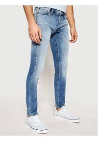 Jack & Jones - Jack&Jones Jeansy Gleen 12182947 Niebieski Slim Fit. Kolor: niebieski