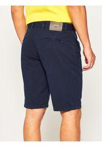 JOOP! Jeans - Joop! Jeans Szorty materiałowe 30020609 Granatowy Regular Fit. Kolor: niebieski. Materiał: materiał