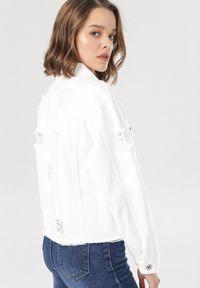 Biała kurtka jeansowa Born2be #5