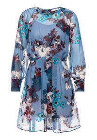 Niebieska sukienka iBlues prosta, na co dzień, casualowa