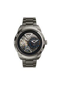Szary zegarek Fossil biznesowy
