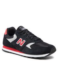 New Balance - Sneakersy NEW BALANCE - ML393VI1 Czarny. Okazja: na co dzień. Kolor: czarny. Materiał: skóra, zamsz. Szerokość cholewki: normalna. Styl: klasyczny, casual