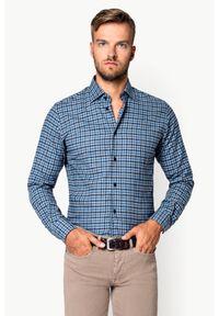 Lancerto - Koszula w Kratę Natanya. Materiał: bawełna, tkanina, jeans. Sezon: jesień, zima