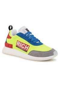 Zielone sneakersy John Richmond