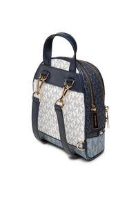 Michael Kors - Plecak MICHAEL MICHAEL KORS - Rhea Zip 30S0GEZB0B Navy Multi. Kolor: niebieski. Materiał: skóra. Styl: klasyczny